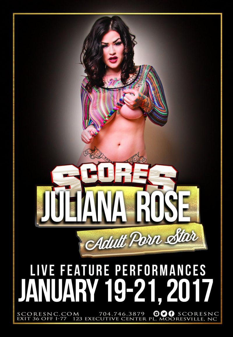 Juliana Rose @ SCORES Gentlemen's Club   Mooresville   North Carolina   United States