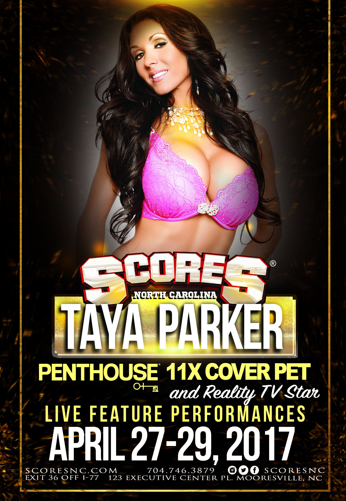 Taya Parker @ SCORES Gentlemen's Club | Mooresville | North Carolina | United States