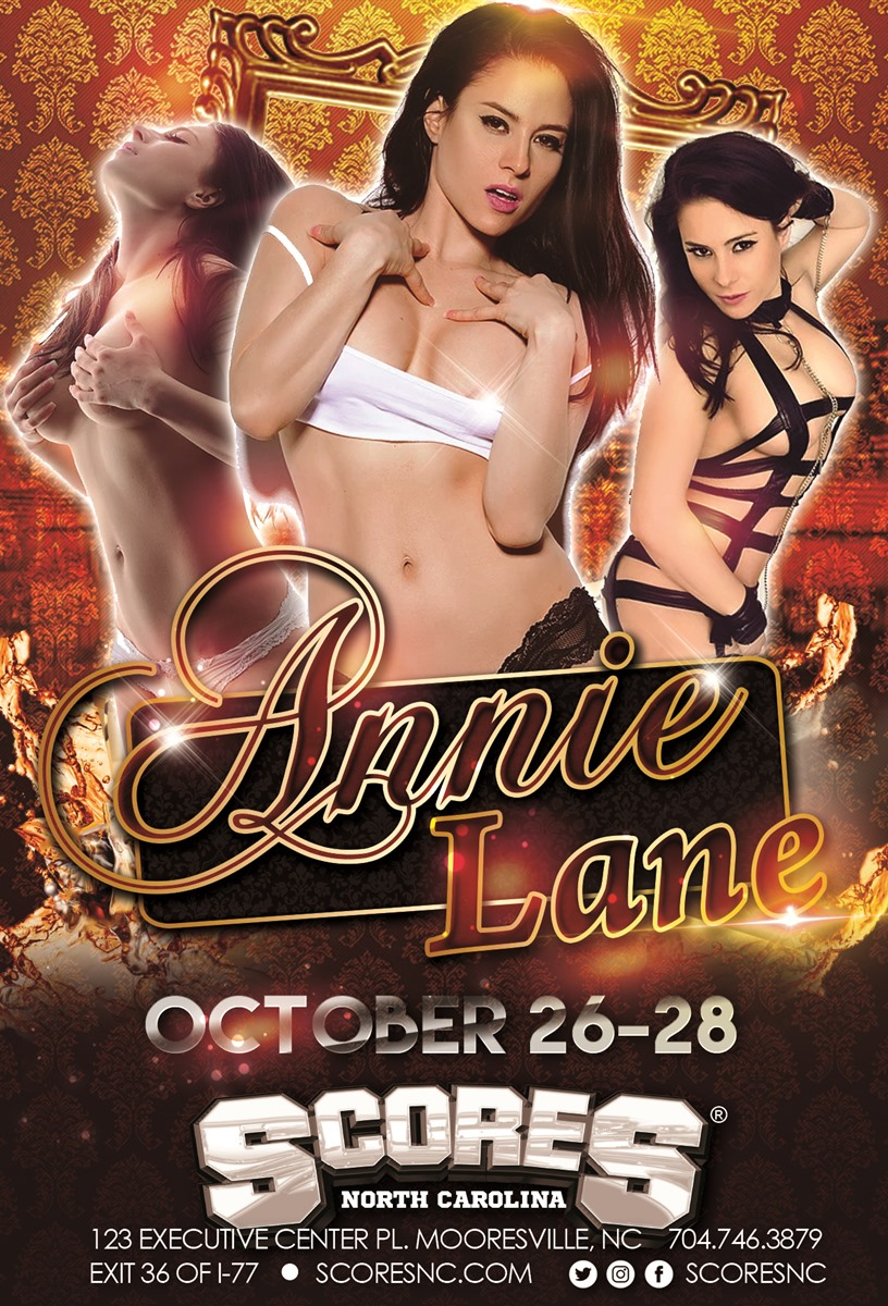 Annie Lane @ SCORES Gentlemen's Club