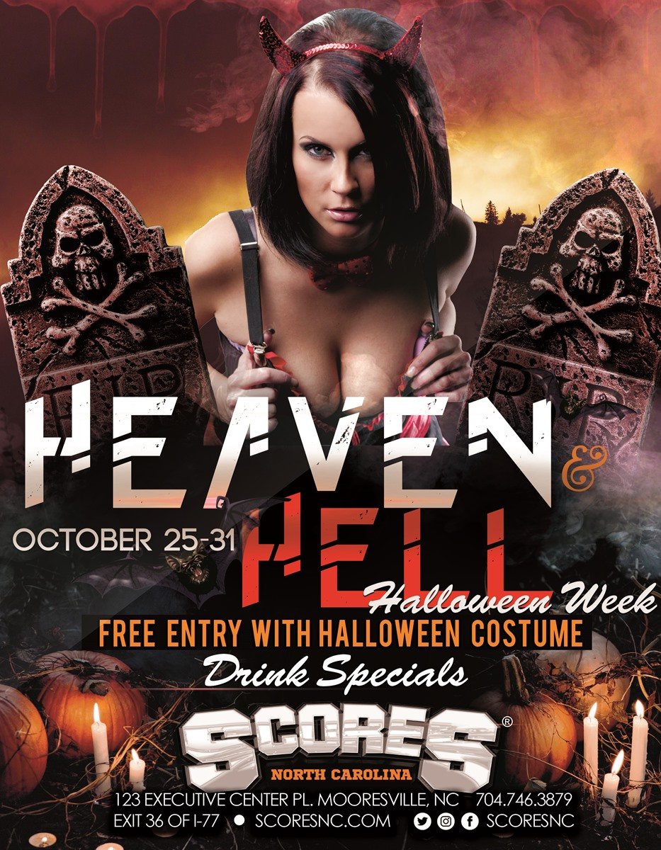 Heaven & Hell - Halloween Week @ SCORES Gentlemen's Club