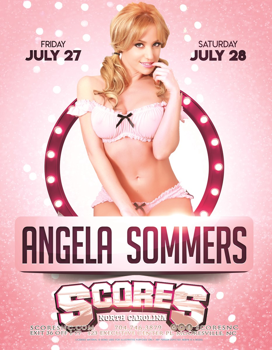 Angela Sommers @ SCORES Gentlemen's Club | Mooresville | North Carolina | United States